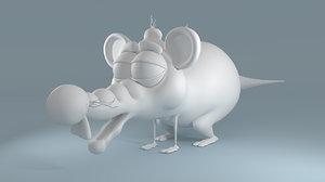 cartoon mouse lwo