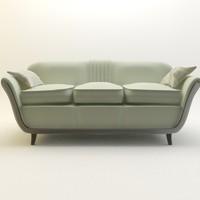 3d sofa hallway model