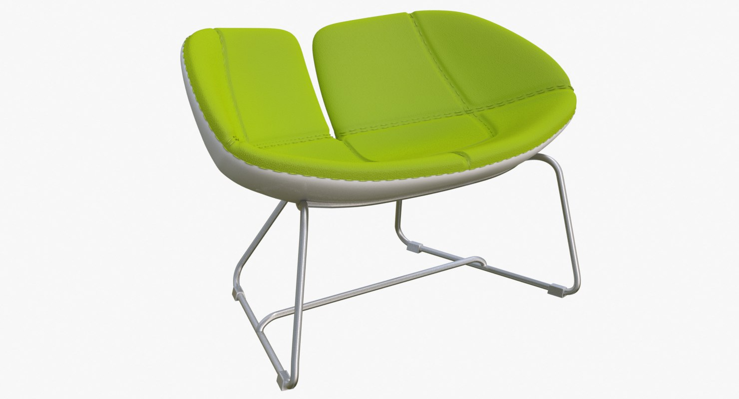 3d fjord armchair green chairs
