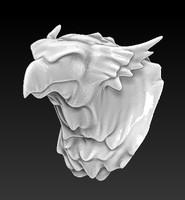 3d model head
