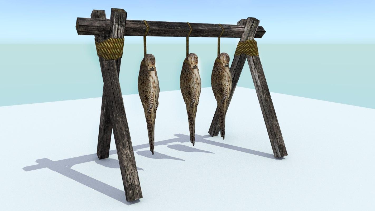hanging birds 3ds