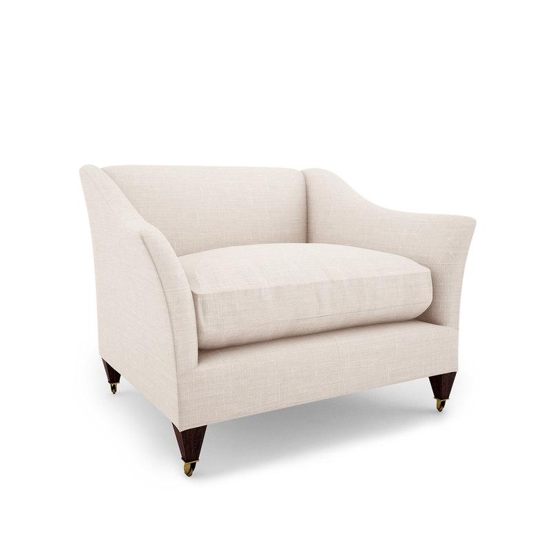 elegant armchair 3ds