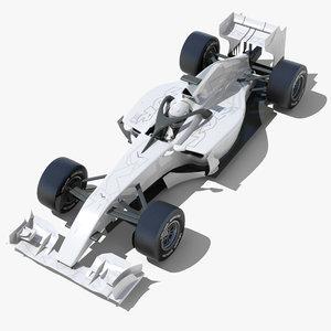 max generic f1 race car