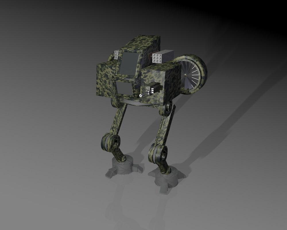 free 3ds model robot ultra