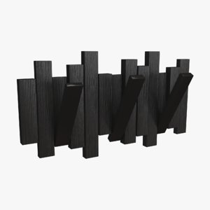 3d design hanger wood