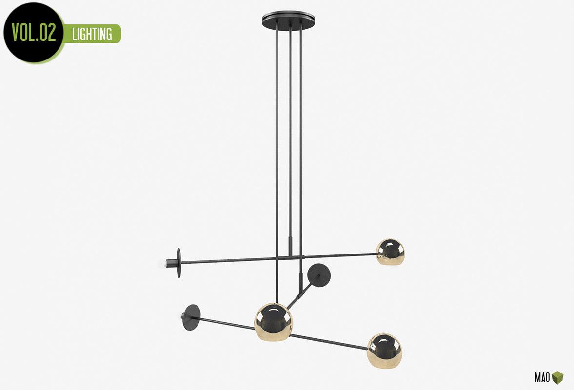 ultralight lamp 3d model