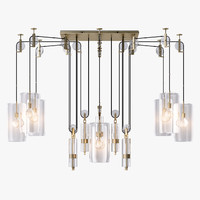 Holly Hunt Counterweight Chandelier