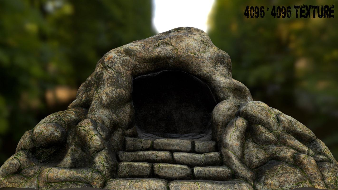 tomb jesus 3d model