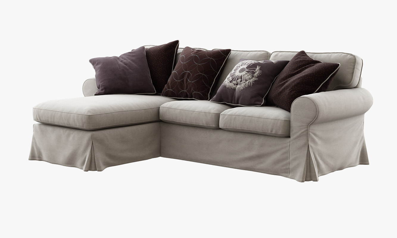 Sofa Chaise Longue Ikea.Ikea Ektorp Two Seat Sofa And Chaise Longue