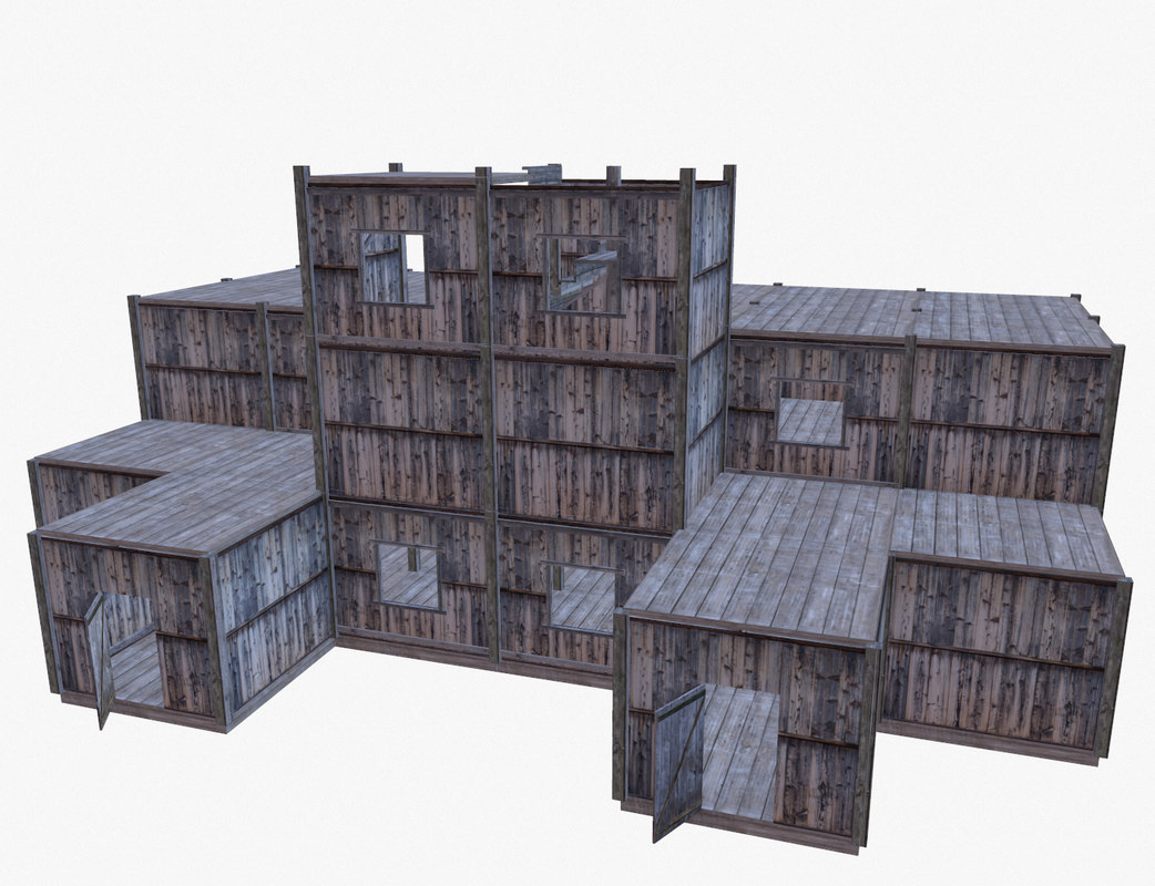 wooden modules building x