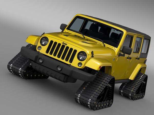 jeep wrangler unlimited x1 3d model