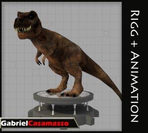 fbx tyrannosaurus rex