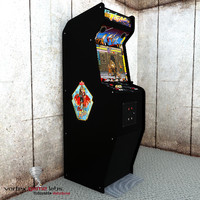 3d model classical arcade final fight