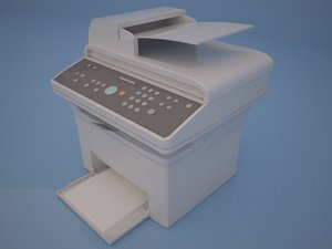 3d printer - fax scanner