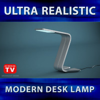 3d model desk lamp lighting