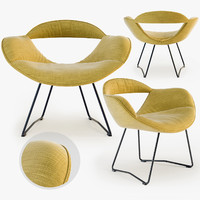 3d walter knoll rumi chair