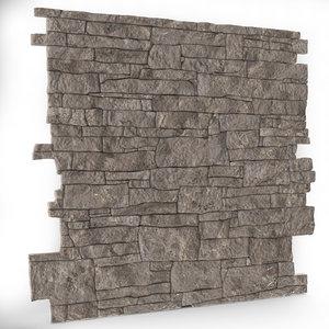 3d model wall tileable