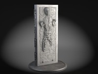 han solo carbonite 3ds