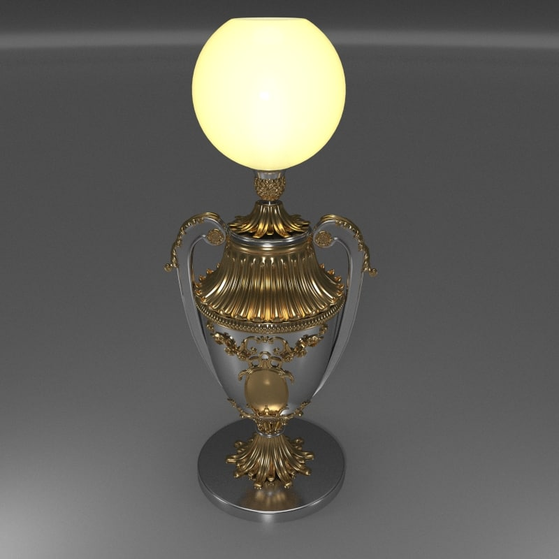 winner cup floor lamp max
