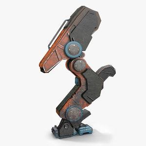 3d robot leg