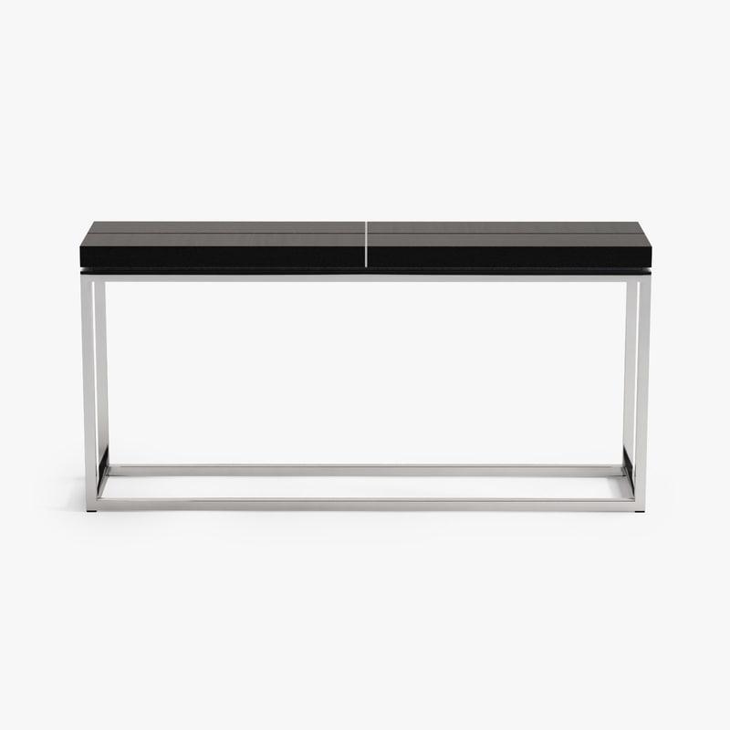 3d model eichholtz console table magnum