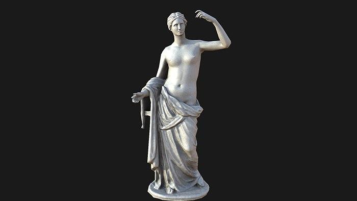 venus statue 3d max