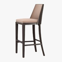 barstool holly hunt crescent 3d max