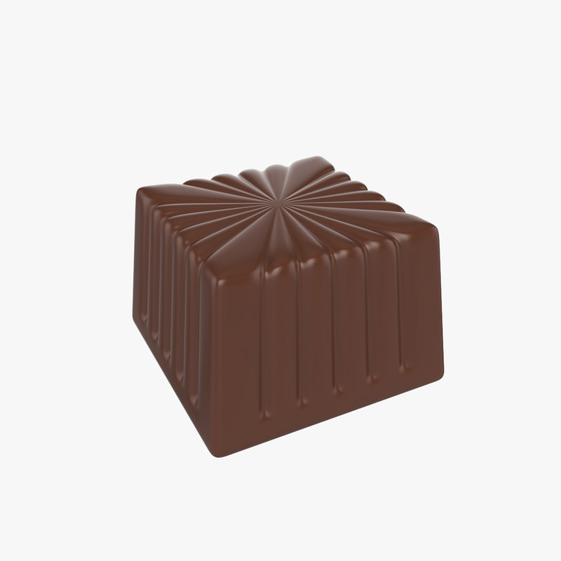3d model candy