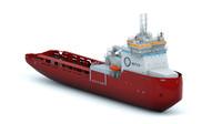 ship arctica 3d model