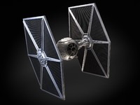 Tie Fighter with interior