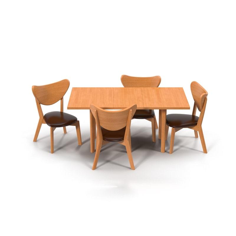 table diner 3d model