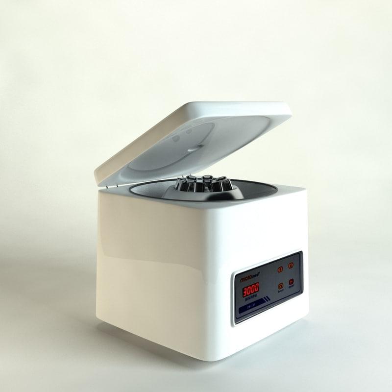 centrifuge 01 3d c4d