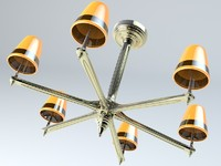 3d chandelier fancy model