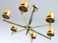 3d chandelier fancy model
