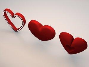 high-poly heart 3d model