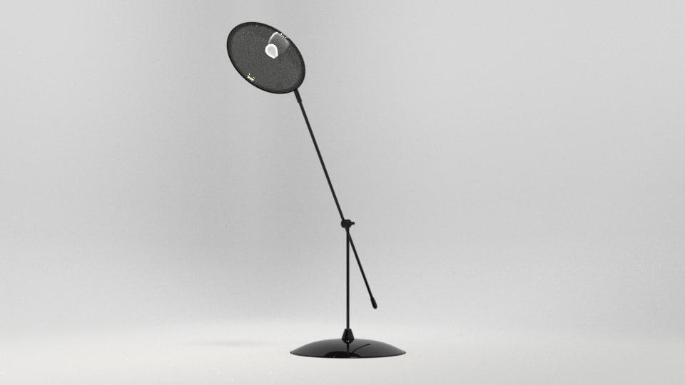 decore table lamp blend