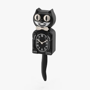 3d model kit-cat clock
