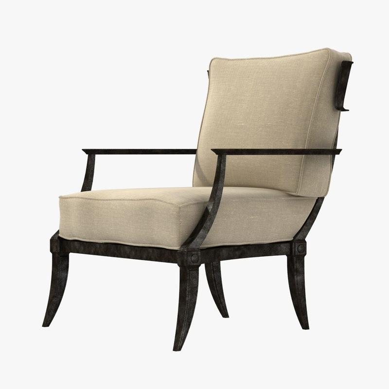 3d chair restoration hardware klismos model