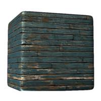 Painted Wood Planks