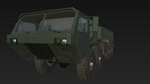 hemtt m985 truck 3d 3ds