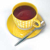 Coffee Tea Cup with spoon