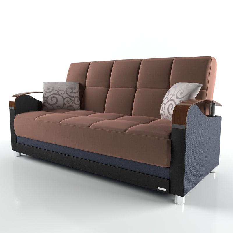 3d luna sofa bed