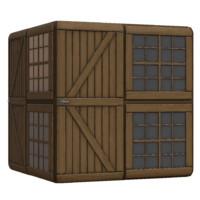 Barn Side Door and Windows
