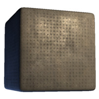 Metal Bumpy Squares