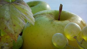 3d resolution apples model