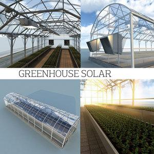 3d solar greenhouse