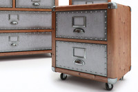 viena wood chest max