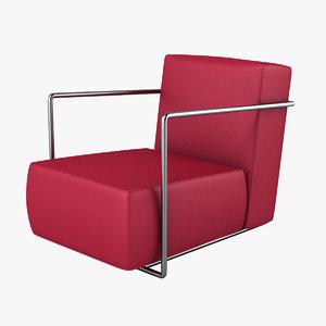 3d model flexform b c chair