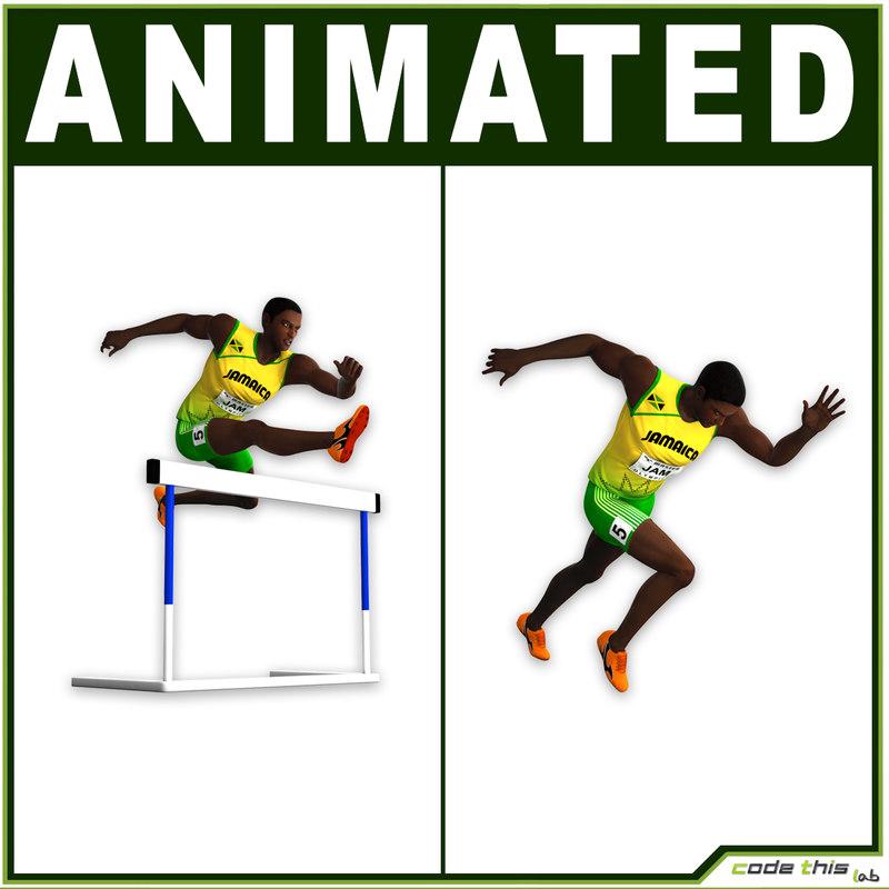 3d usa jamaica model