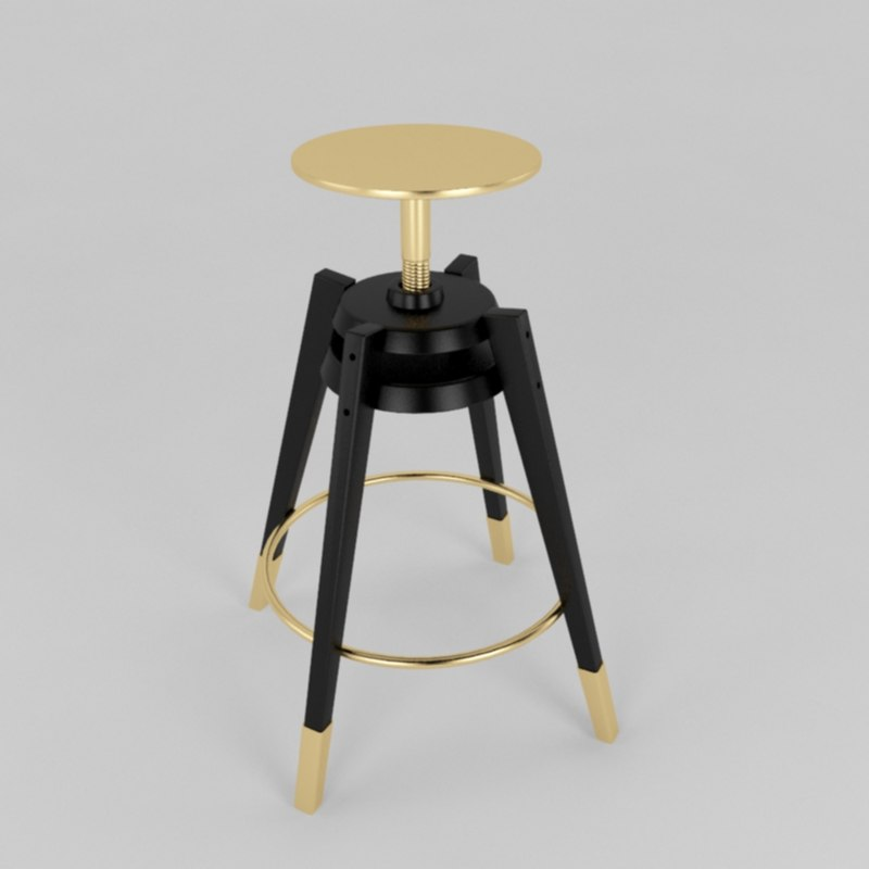 3d ikea stool